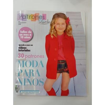 Revista Patrones Infantiles nº 2 - Moda para Niños 30...
