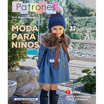Revista Patrones Infantiles nº 11 - Moda para Niños 32...