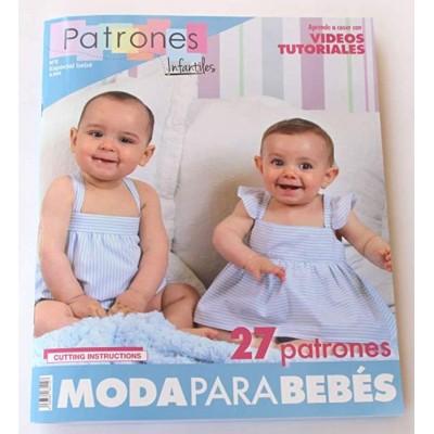 Revista patrones de costura infantil, nº 2. Especial...