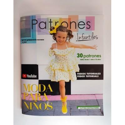 Revista nº 12 de patrones Infantiles - Especial niña, niño