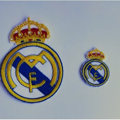 Parche Escudo bordado Real Madrid