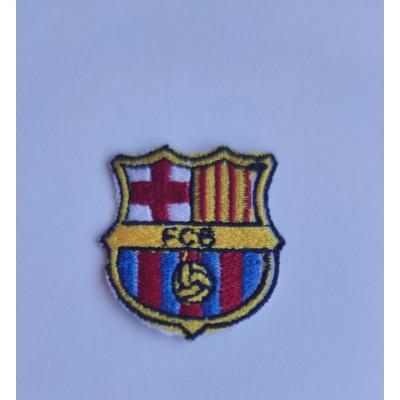 Parche Escudo Bordado FC Barcelona.
