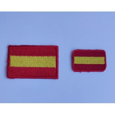 Bandera de España Bordada en dos tamaños