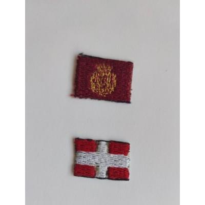 Parche escudo Cartagena y Bandera portuaria