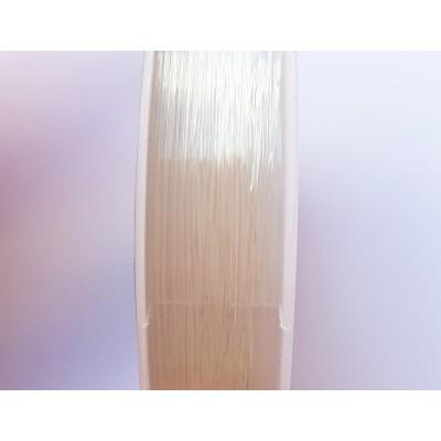 Cordón elástico 100% transparente 0,80mm