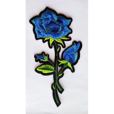 Aplicaciones de flores bordadas para vestidos