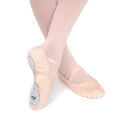 Zapatillas media punta ballet de lona