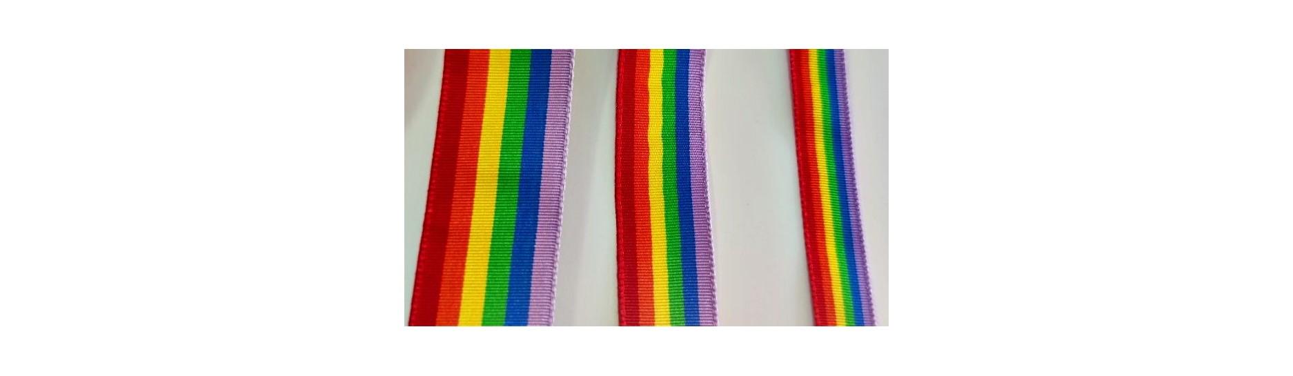 Cinta bandera Arcoiris -  Mercería Online Sonia®  ◁